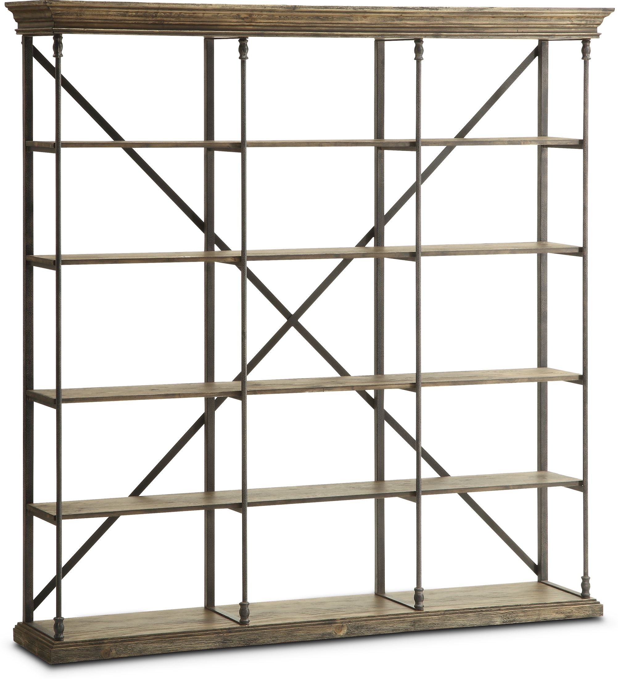 Home Office Furniture - Bedford Triple Bookcase