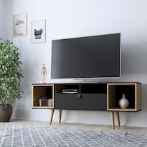 belgrade black tv stand