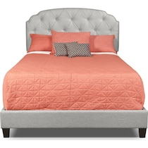 bella marmor gray queen bed