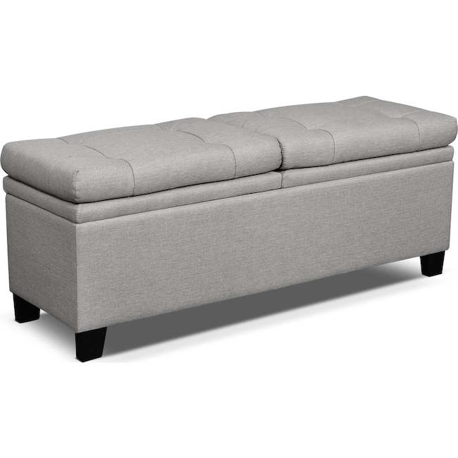 Bedroom Furniture - Bella Marmor Storage Bench