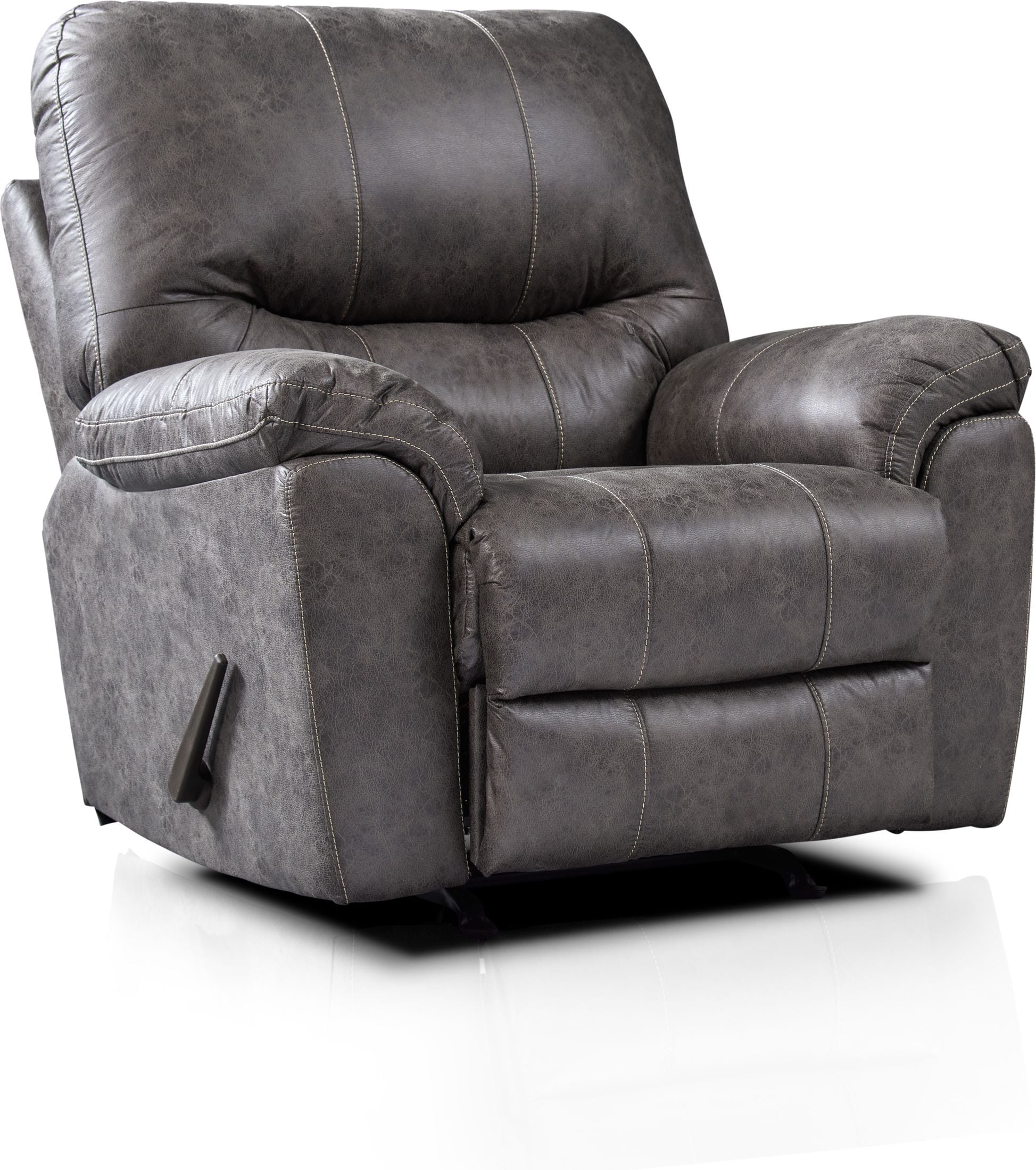 Living Room Furniture - Bennett Manual Recliner