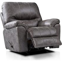bennett gray manual recliner