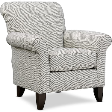 Kingston Accent Chair - Azumi Ebony