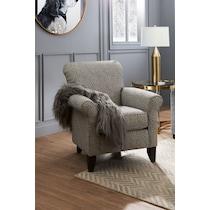 berkeley black accent chair