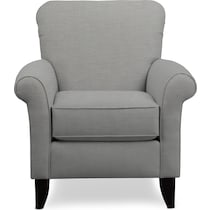 berkeley gray accent chair