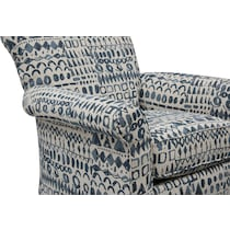 berkeley habbot cobolt accent chair