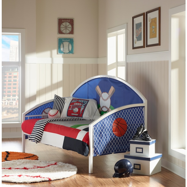 Kids Furniture - Big Game Twin Daybed