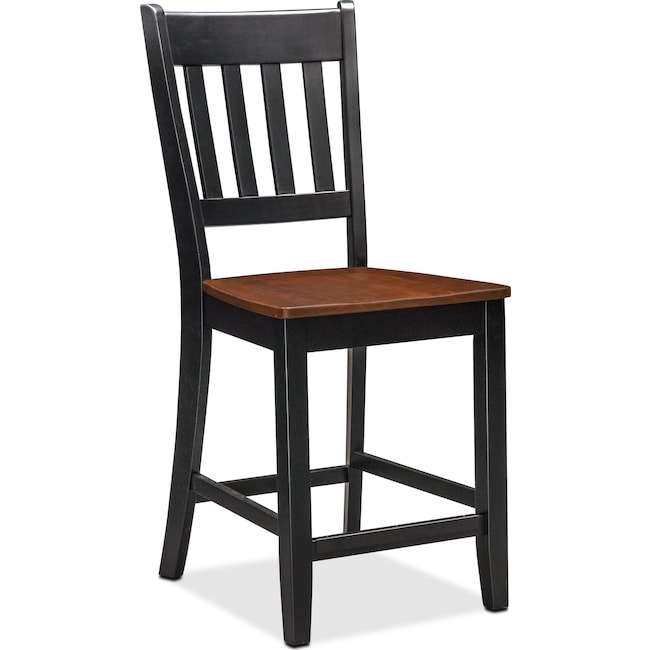 Dining Room Furniture - Nantucket Counter-Height Slat-Back Dining Chair
