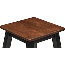 black and cherry counter height stool