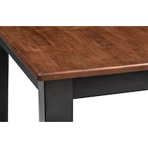 black and cherry counter height table