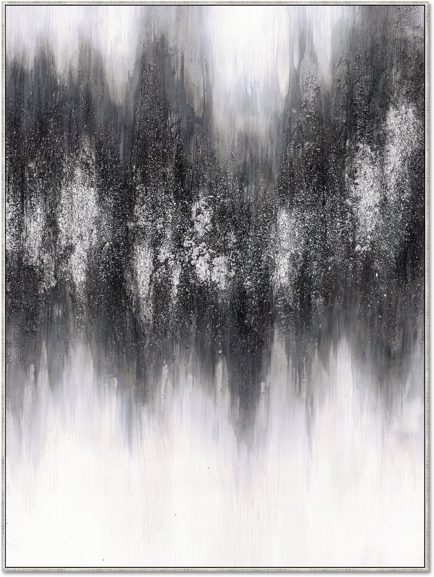 Home Accessories - Black Static Wall Art