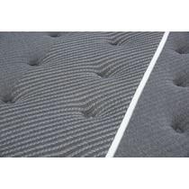 black queen mattress split low profile foundation set
