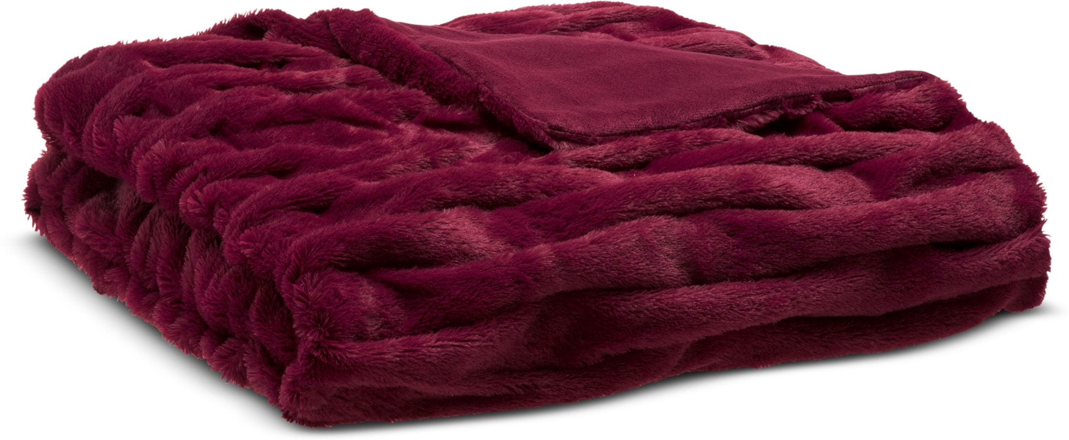 Accent and Occasional Furniture - Blaire Faux Fur Throw
