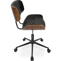 blakely black office chair
