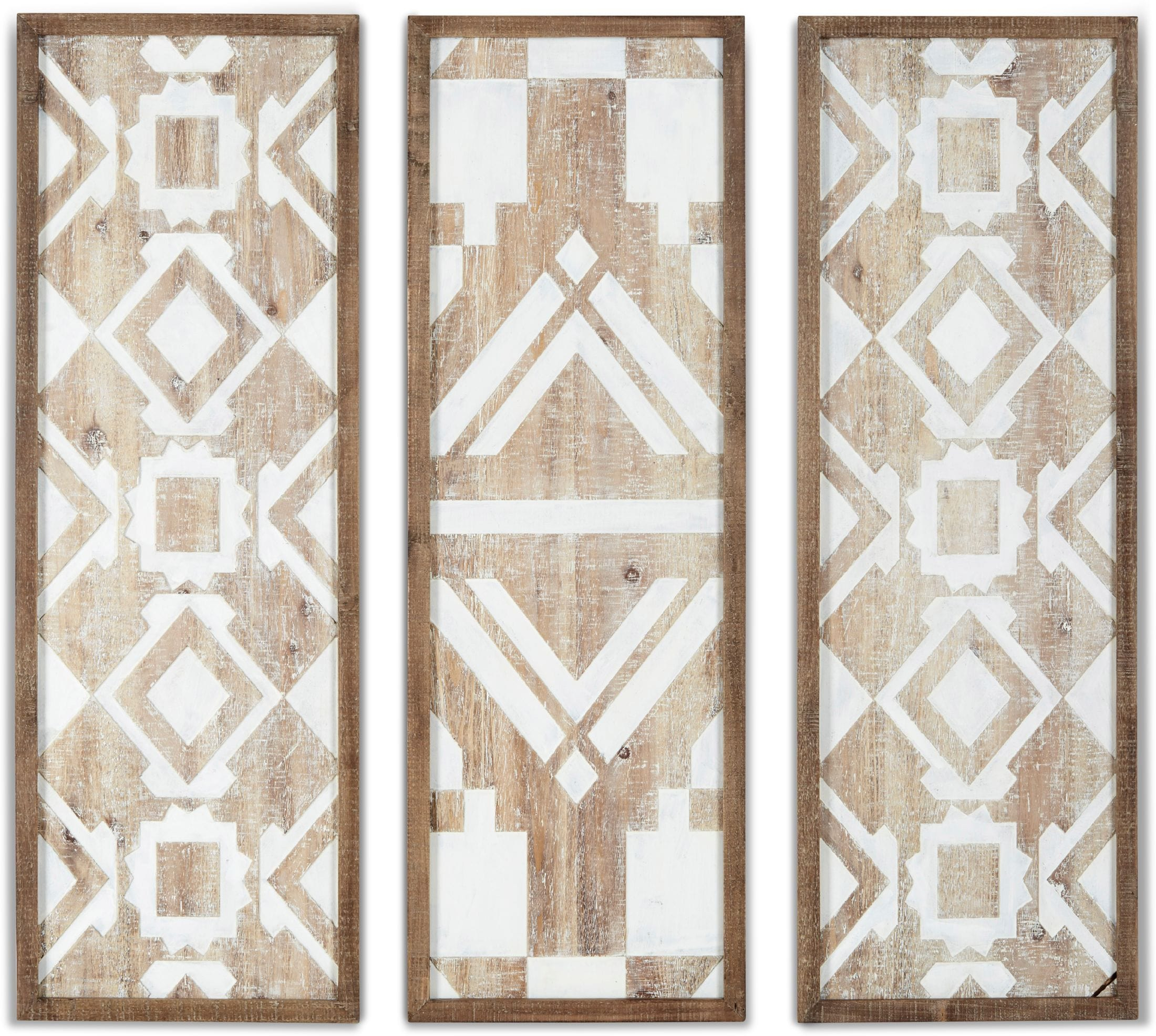 Home Accessories - Blakely 3-Piece Printed Wall Art