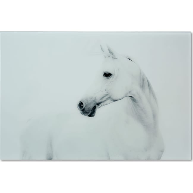 Home Accessories - Blanco Mane Stallion Wall Art