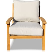 bonita white outdoor chair