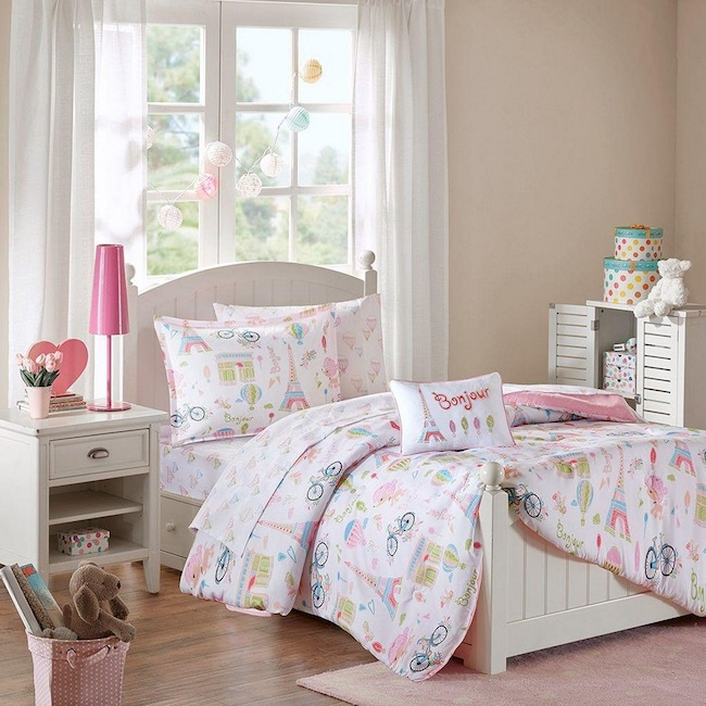 Accent and Occasional Furniture - Bonjour Full Bedding Set