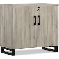 boone gray accent cabinet