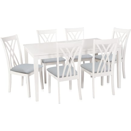 Boyd Dining Table and 6 Chairs