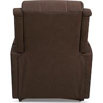 bozeman dark brown power lift recliner
