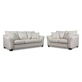 Braden Sofa and Loveseat Set