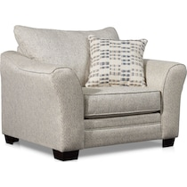 braden white chair