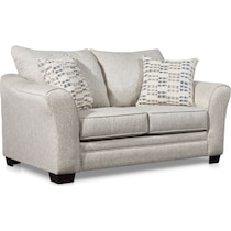 braden white loveseat