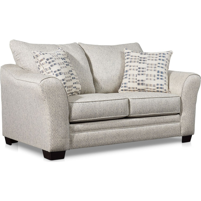 Living Room Furniture - Braden Loveseat