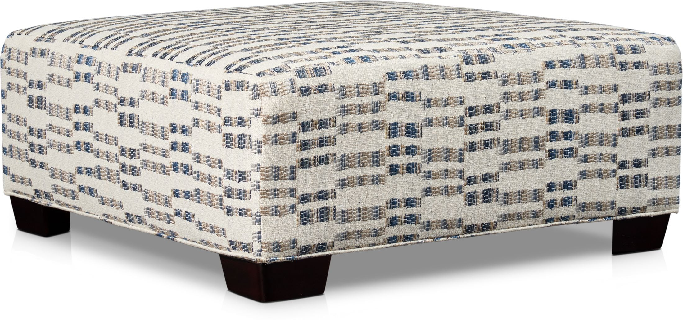 Living Room Furniture - Braden Ottoman