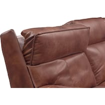 bradley dark brown power reclining sofa