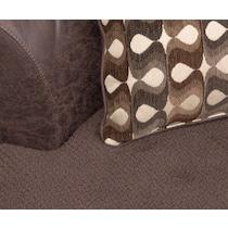 brando sectional chocolate dark brown  pc living room