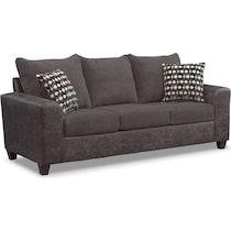 brando smoke gray sofa