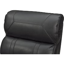 bravo black black power recliner