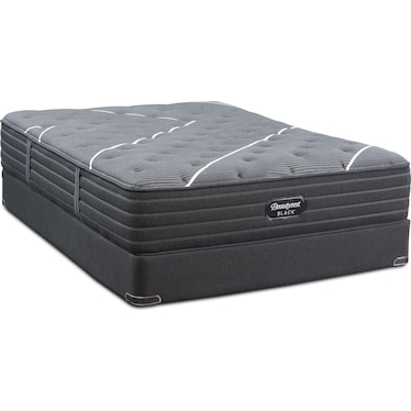 BRB C-Class Medium Firm Queen Mattress and Foundation