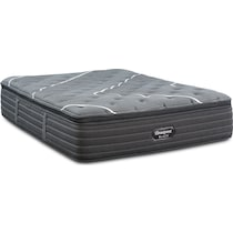brb c class plush pillow top black full mattress