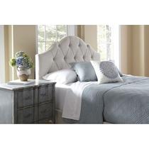 brigid cream queen bed