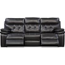 brisco black manual black manual reclining sofa