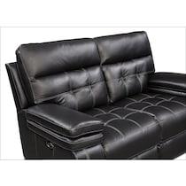 brisco black power black power reclining loveseat