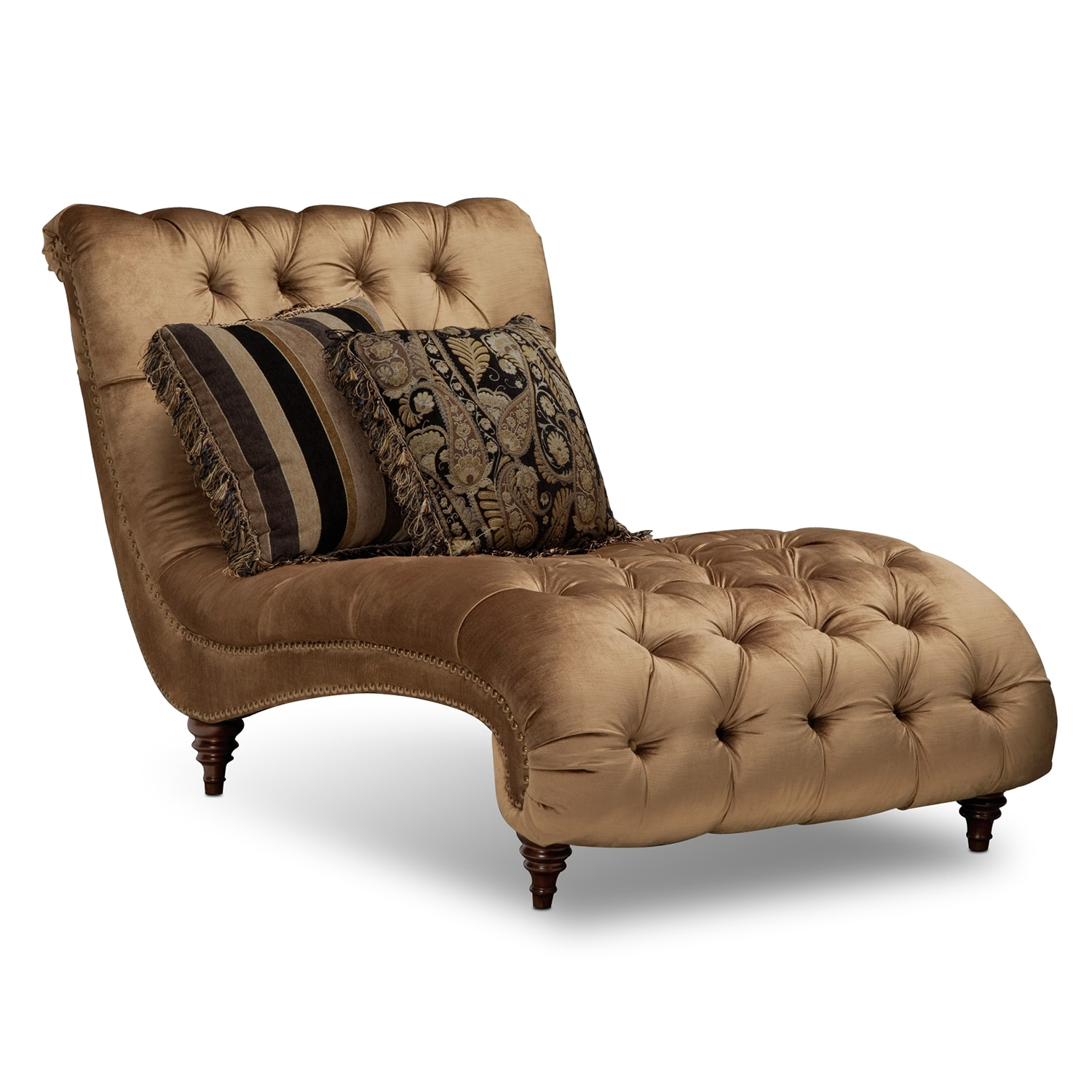 Living Room Furniture - Brittney Chaise