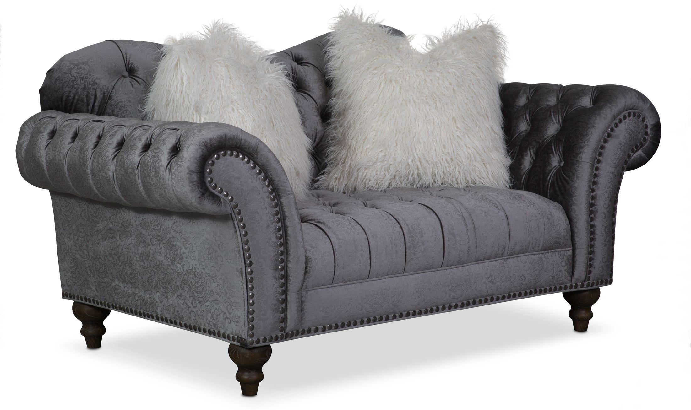Living Room Furniture - Brittney Loveseat