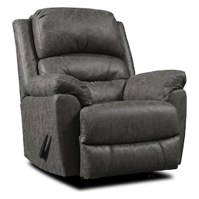 Bronx Manual Recliner - Gray