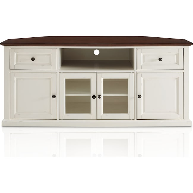 Accent and Occasional Furniture - Brooke Corner TV Stand