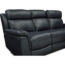 brooklyn blue power reclining sofa