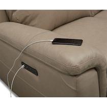 brooklyn white power recliner