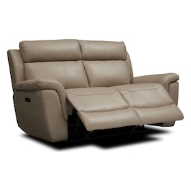 Brooklyn Dual-Power Reclining Loveseat