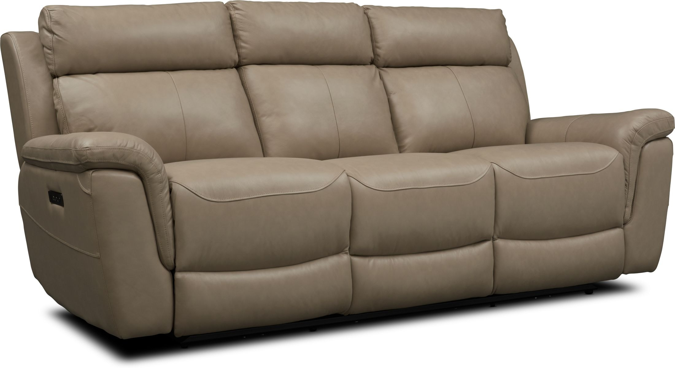 Living Room Furniture - Brooklyn Dual-Power Reclining Sofa