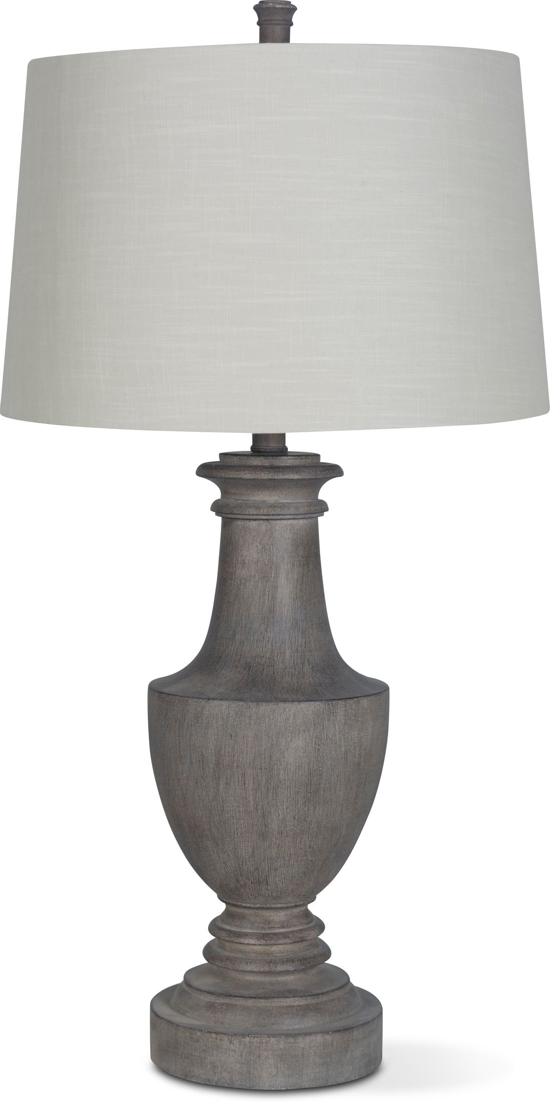 Home Accessories - Brushed Gray Table Lamp