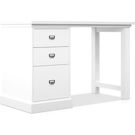 Brynn Single Pedestal Desk