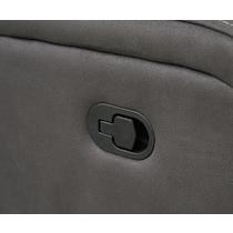 burke gray manual recliner
